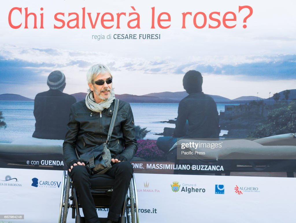 Cesare Furesi attends the photocall of 'Chi Salverà le Rose ?'.