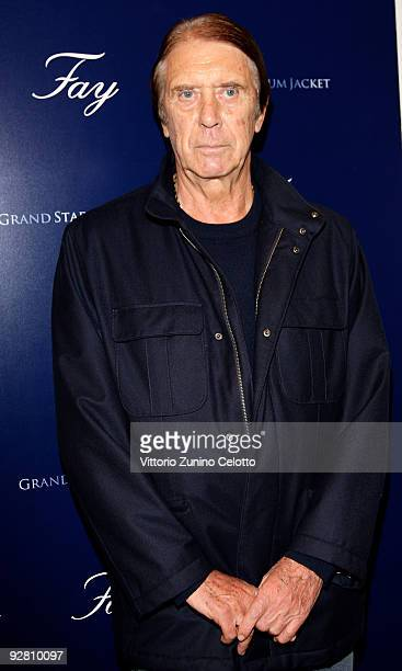 Cesare Maldini attends the Grand Stadium Jacket cocktail party at the Fay Boutique on November 5 2009 in Milan Italy