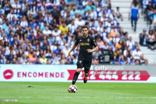 Cesc Fabregas of AS Monaco during the match FC Porto v AS Monaco - Pre-Season Friendly at Estadio do Dragao on July 27, 2019 in Porto, Portugal.