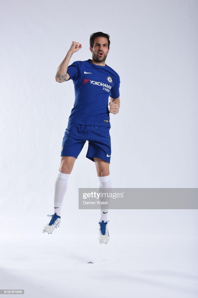Cesc Fabregas of Chelsea during the New Nike Kit Photoshoot at ... e4e736fd87
