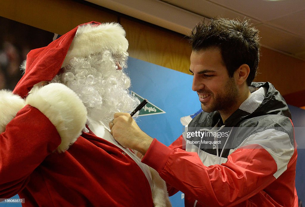 Cesc Fabregas Presents New Puma PowerCat 1.12 in Barcelona : News Photo