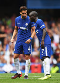 london england cesc fabregas talks with