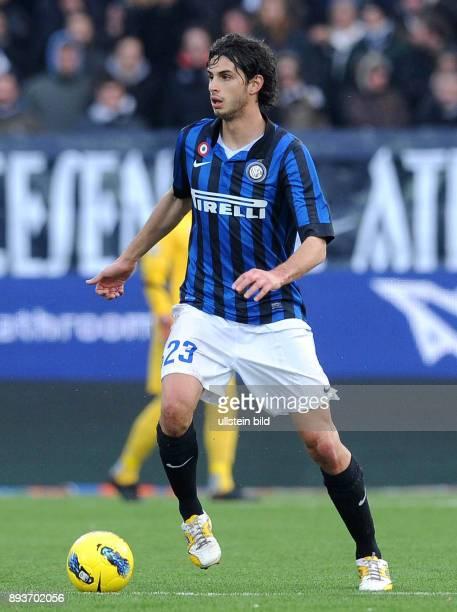 FUSSBALL Cesena Inter Mailand Andrea Ranocchia