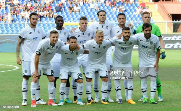 Cesena Team during the TIM Cup match between Genoa CFC and AC Cesena at Stadio Luigi Ferraris on August 13 2017 in Genoa Italy