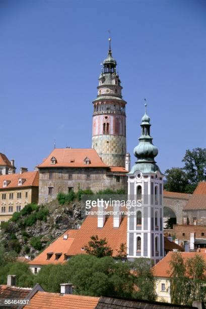 Cesky Krumlov city Photography Around 2000 [Krumau Zentrum Photographie Tschechien Um 2000]