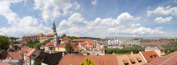 cesky krumlov, czech republic, europe - cesky krumlov castle stock photos and pictures