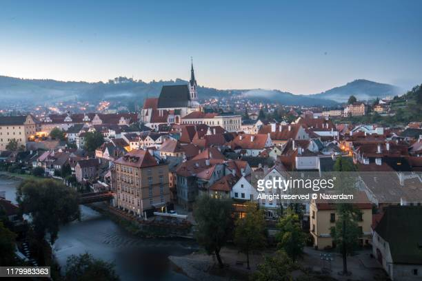 cesky krumlov - st vitus's cathedral stock pictures, royalty-free photos & images