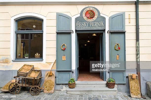 Cesky Pernik Gingerbread Shop in Czech Respublic Europe