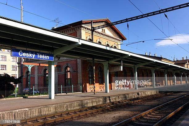 Cesky Tesin train station Czech Republic