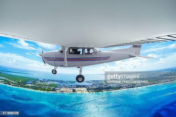 Cesna flying