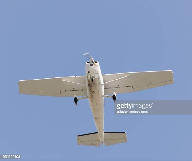 Cessna 172 Skyhawk flying enroute