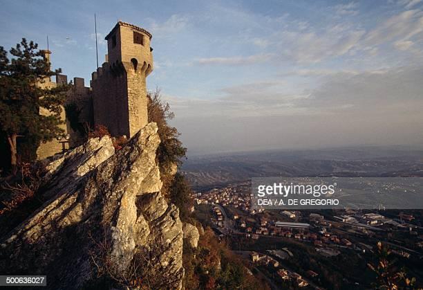 Cesta tower, Fratta tower or Second tower, San Marino, Republic of San Marino, 15th century.