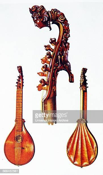Cetera by Antonius Stradivarius An Italian Cither dated from 1700 this belonged to the violinist Alard