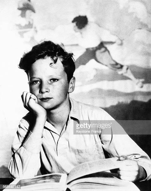 Cette photo de Howell Ward de Chicago représentant un enfant rêvant devant son livre ouvert a été primée au concours national organisé par le...