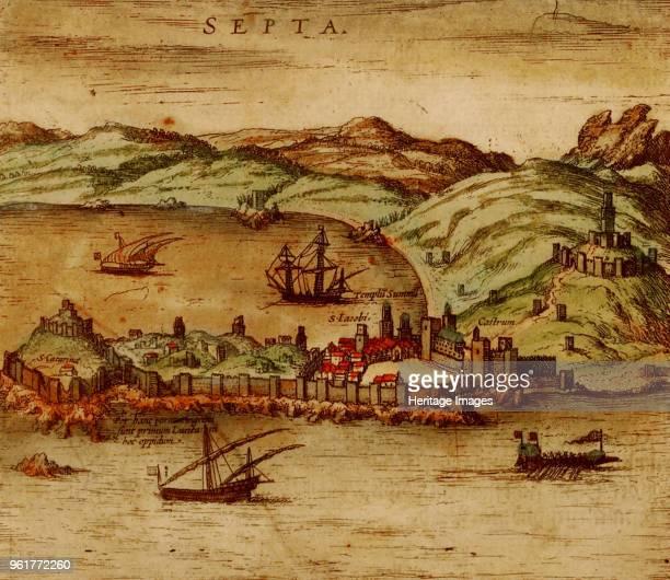 Ceuta , 1572. Private Collection.