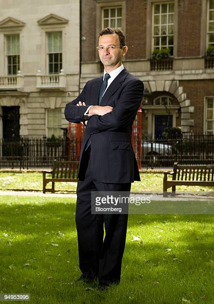 Cevdet Caner former chief executive officer of Level One investment company poses in the Mayfair district of London UK on Tuesday May 12 2009 Caner...