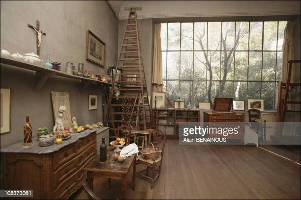 """Cezanne's studio in AixenProvence the """" Atelier des Lauves"""" in AixenProvence France on January 13 2006"""