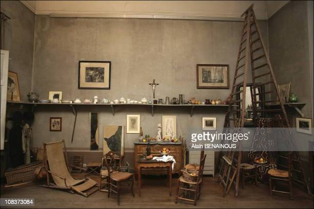 """Cezanne's studio in AixenProvence the """"Atelier des Lauves"""" in AixenProvence France on January 13 2006"""