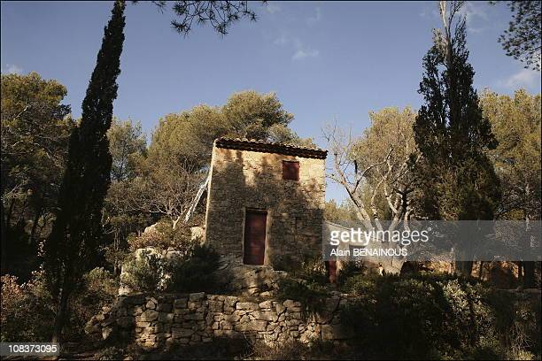 Cezanne's studio in the quarries of Bibemus in AixenProvence in AixenProvence France on February 01 2006