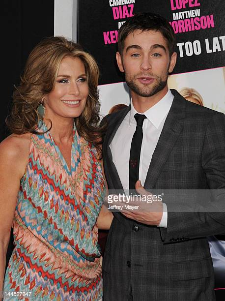 Chace Crawford and Dana Crawford attend the Los Angeles premiere of What To Expect When You're Expecting at Grauman's Chinese Theatre on May 14 2012...