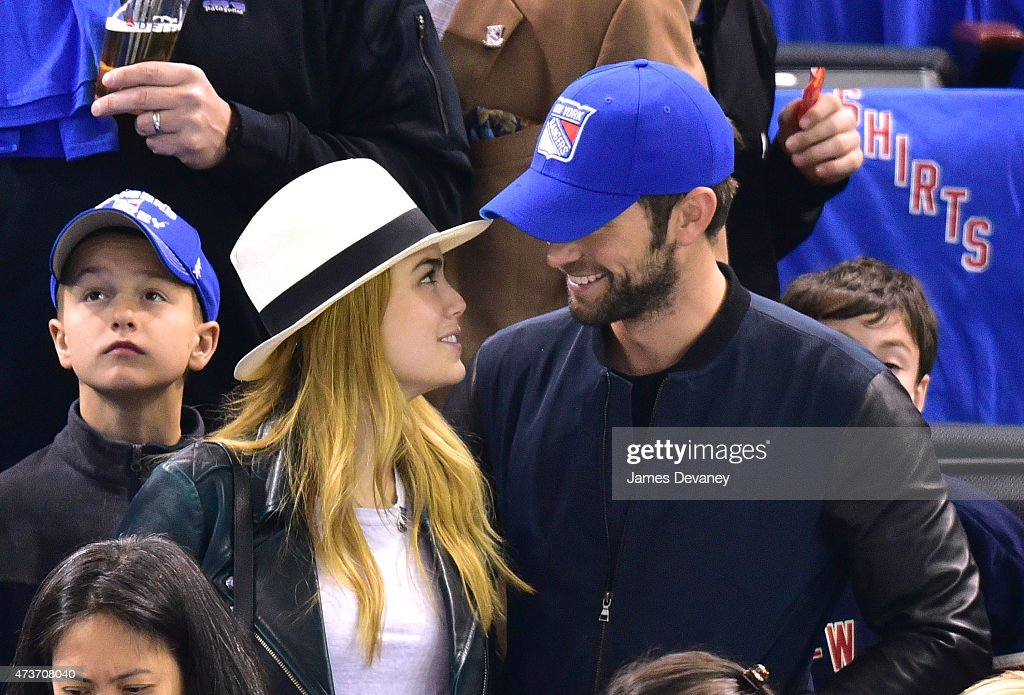 a10ce2a359b Celebrities Attend The Tampa Bay Lightning Vs New York Rangers Playoff Game  - May 16