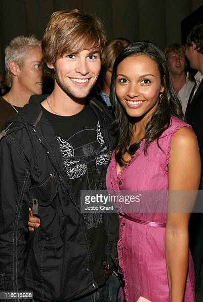Chace Crawford and Jessica Lucas during The Covenant Industry Screening at Mann Chinese 6 in Hollywood California United States
