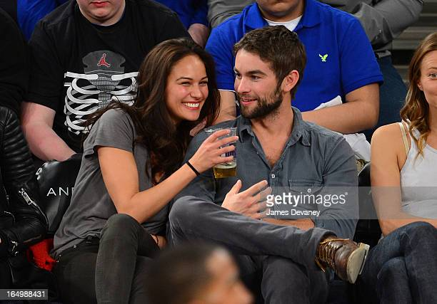 Chace Crawford And Rachelle Goulding