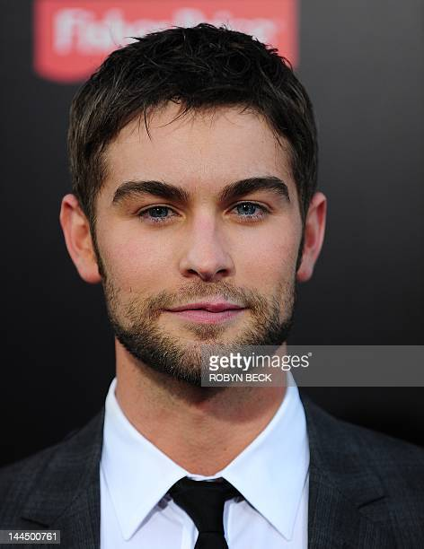 Chace Crawford arrives for the premiere of What To Expect When You Are Expecting May 14 2012 at Grauman's Chinese Theatre in Hollywood California AFP...