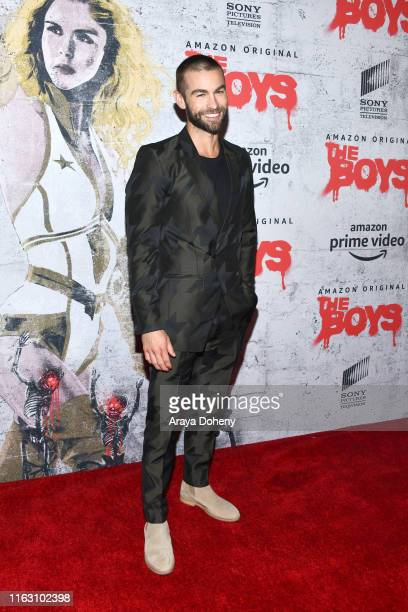 Chace Crawford at the The Boys press line at 2019 ComicCon International on July 19 2019 in San Diego California