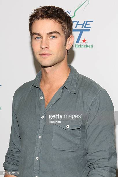 Chace Crawford attends the 2011 US Open Rock the Set concert at Terminal 5 on August 24 2011 in New York City