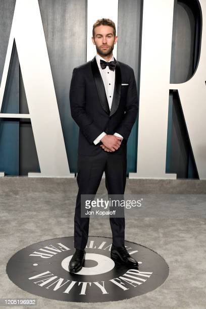 Chace Crawford attends the 2020 Vanity Fair Oscar Party hosted by Radhika Jones at Wallis Annenberg Center for the Performing Arts on February 09...