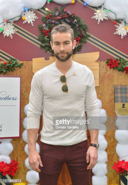 Chace Crawford attends the Brooks Brothers and St Jude Children's Research Hospital Annual Holiday Celebration at the Beverly Wilshire Four Seasons...