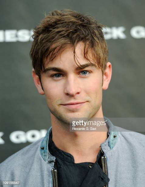 Chace Crawford attends the Diesel Black Gold Fall 2011 fashion show during MercedesBenz Fashion Week at Pier 94 on February 15 2011 in New York City