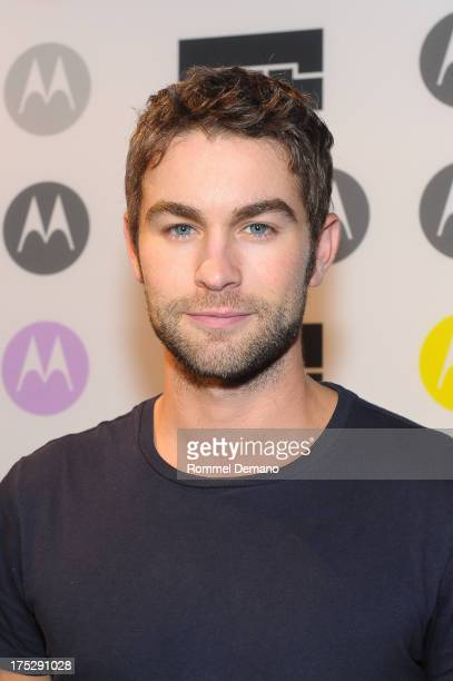Chace Crawford attends the Moto X Launch Event at The Waterfront on August 1 2013 in New York City