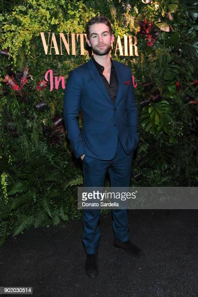 Chace Crawford attends Vanity Fair x Instagram Celebrate the New Class of Entertainers at Mel's Diner on Golden Globes Weekend at Mel's Diner on...