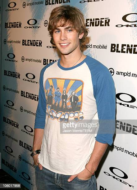 Chace Crawford during 2006 Blender/Oakley X Games Kick Off Party Red Carpet at Element in Hollywood California United States