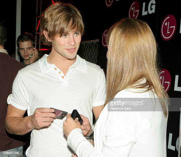 Chace Crawford during LG Lounge at the Stuff Style Awards at Arclight in Los Angeles California United States