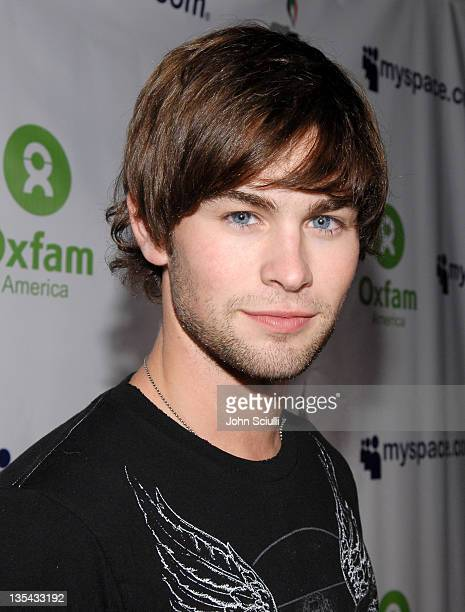 Chace Crawford during MySpace Presents Rock for Darfur Party Benefiting Oxfam America at Private Estate in Beverly Hills California United States