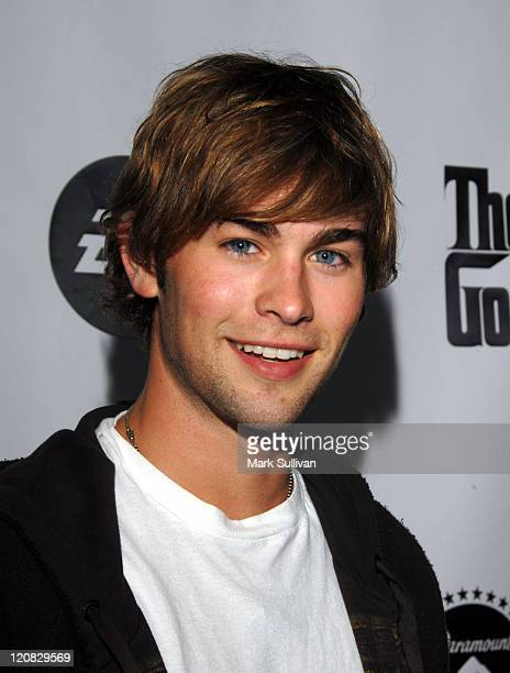 Chace Crawford during World Premiere of The Godfather the Game on XBOX 360 Arrivals at Stone Rose Lounge in Los Angeles California United States