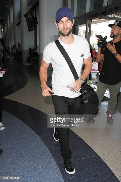 Chace Crawford is seen at LAX on September 14 2016 in Los Angeles California
