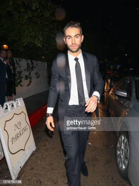 Chace Crawford is seen on January 07 2019 in Los Angeles California
