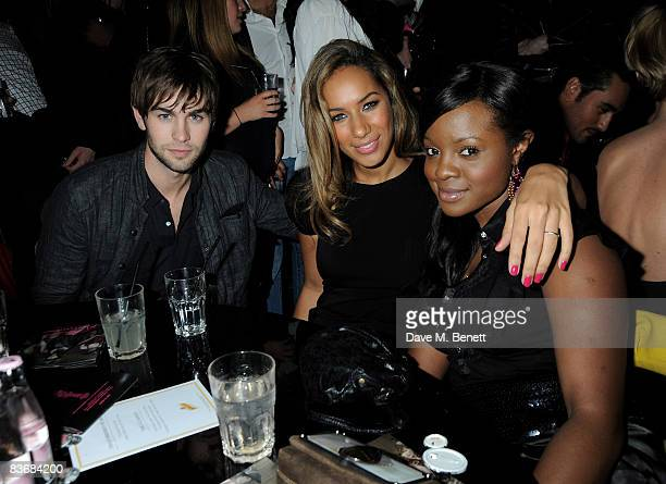 Chace Crawford Leona Lewis and Keisha Buchanan attend the Pirate Provocateur Extravaganza launch party for the new Agent Provocateur Winter...