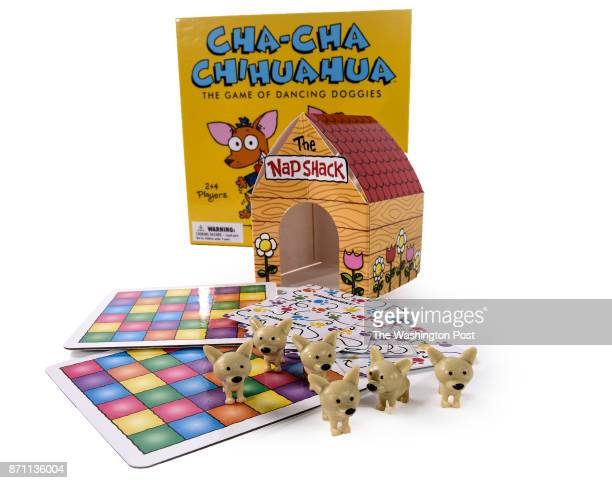 ChaCha Chihuahua game one of the items for the Post's annual gift guide on October 2017 in Washington DC
