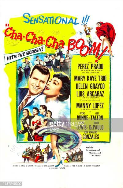 Chachacha Boom poster US poster art from left Stephen Dunne Alix Talton 1956