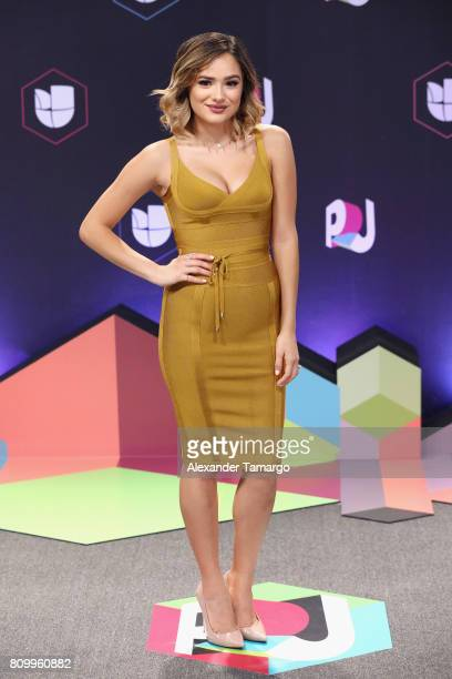 Chachi Gonzalez attends the Univision's Premios Juventud 2017 Celebrates The Hottest Musical Artists And Young Latinos ChangeMakers at Watsco Center...