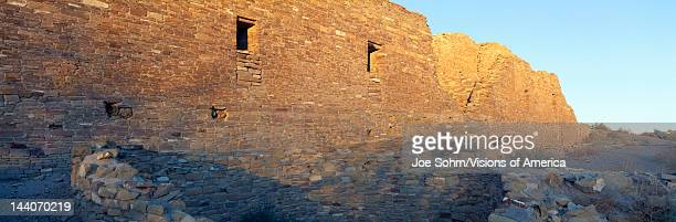 Chaco Canyon Indian Ruins, Sunset, New Mexico