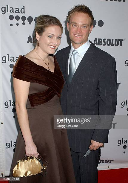 Chad Allen and sister Charity during 17th Annual GLAAD Media Awards Arrivals in Los Angeles California United States