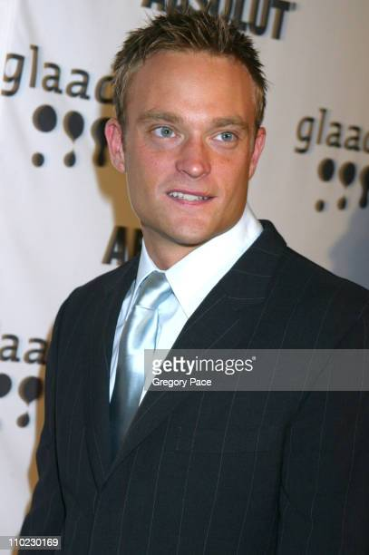 Chad Allen during 16th Annual GLAAD Media Awards - Arrivals at Marriott Marquis in New York City, New York, United States.
