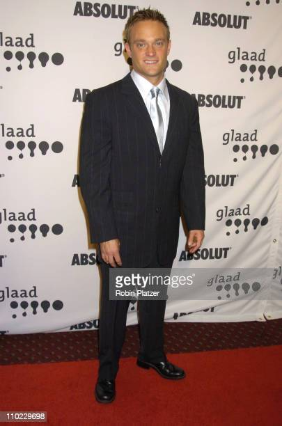 Chad Allen during 16th Annual GLAAD Media Awards at Marriott Marquis Hotel in New York City, New York, United States.