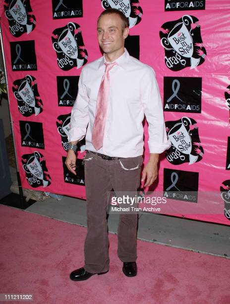 Chad Allen during 4th Annual Best in Drag Show to Benefit Aid for AIDS at WilshireEbell Theater in Los Angeles California United States